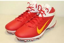 NIKE ALPHA TALON ELITE RED/WHITE 544327 616 FOOTBALL CLEATS MENS SIZE 15