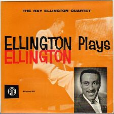 "RAY ELLINGTON ""PLAY DUKE ELLINGTON"" PIANO JAZZ 60'S EP PYE 24101"