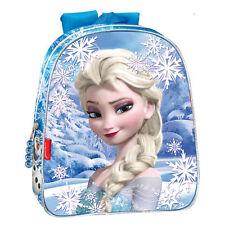 Disney Frozen Eiskönigin Kinder Rucksack Tasche Schule Kindergarten Glitzer