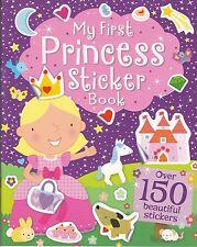 PRINCESS STICKER BOOK - OVER 150 STICKERS