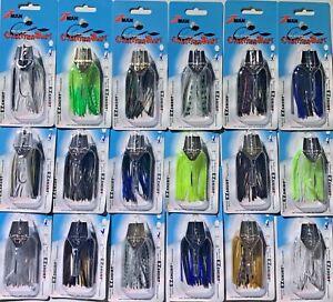 Z-Man ChatterBait 1/4 1/2 & 3/8 oz. Bladed Jig Zman Panfish Bass Pick ZMAN Mini