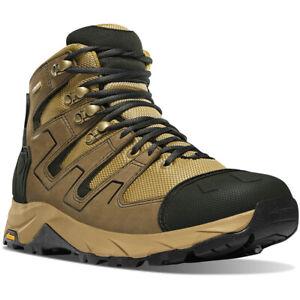 "Danner 54020 Men's Downrange 6"" Black/Tan/Charcoal GTX Military Boots Shoes"