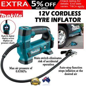 Makita MP100DZ 12V Max Li-ion Cordless Tyre Inflator Pump - Skin Only