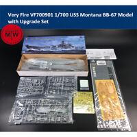 Very Fire VF700901 1/700 USS Montana BB-67 Battleship Model with Upgrade Set