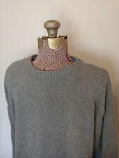 VTG High Sierra Gray Crew Neck Sweater Gray Large L