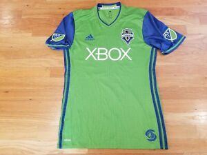 Adidas Seattle Sounders FC MLS XBOX Jersey Sz Medium Green Climacool NICE!