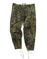 Armed Forces M44 Erbsentarn Pants Drill Uniform Trousers Size 48 Field Pea Dot