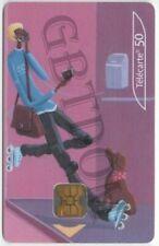 CARTE téléphonique carte N°6 cabines téléphoniques - télécarte France Télécom