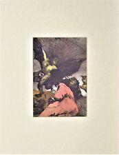 Salvador Dali Lithograph Les Caprices De Goya Querubines 1977