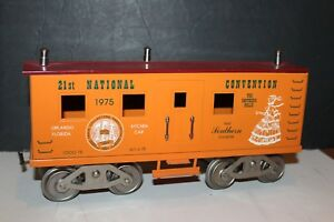 1975 TCA 21th National Convention McCoy Standard WIDE Gauge KITCHEN Car with Box