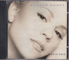 CD 11T MARIAH CAREY MUSIC BOX DE 1993 TBE