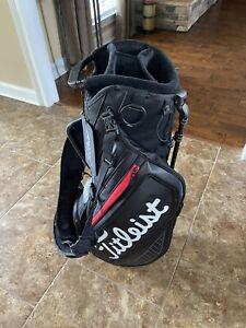 Titleist Jet Black Premium Stand bag