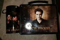 Twilight Saga New Moon Lunch Box with Thermos  Jacob & Edward