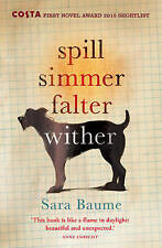 Spill Simmer Falter Wither, By Baume, Sara,in Used but Acceptable condition