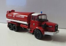 Franz. oltimer bomberos 1982 renault Type GBH 280 6x6 agua camión cisterna 1/43
