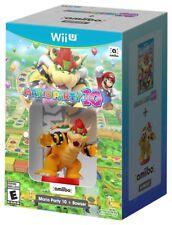Mario Party 10 w/ Bowser Amiibo Bundle [Nintendo Wii U, NTSC Video Game] NEW