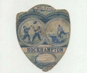 John Baines of Bradford Rugby Card - Rockhampton 'Well Played'