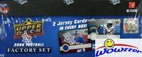 2008 Upper Deck First Edition Football Factory Set-75 RC's+2 JERSEY-MATT RYAN RC