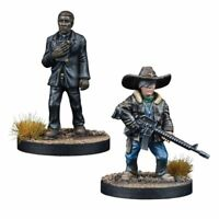 The Walking Dead Father Gabriel Booster (Englisch) All Out War Mantic Games Carl