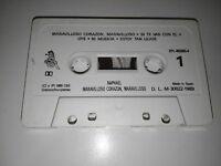 RAPHAEL MARAVILLOSO CORAZON CINTA TAPE CASSETTE 1989 SIN CAJA