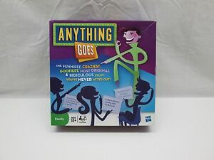 Anything Goes 2010 Hasbro Family Board Game