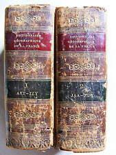 Briand-de-Verzé Dictionnaire Complet de la France et ses colonies en 2 Vol. 1831