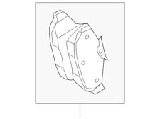 Genuine Ford Rear Pads DR3Z-2200-C