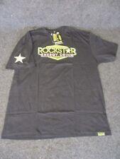 Rockstar Energy Mens Casual motocross/bmx/skate t-shirt black x/large RC002