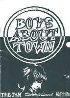 BOYS ABOUT TOWN ISSUE 12 - THE JAM /STYLE COUNCIL /PAUL WELLER - 1994 UK FANZINE