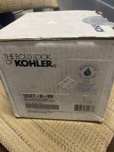KOHLER 10327-G-BN Forte Showerhead, Brushed Nickel