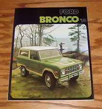 1974 Ford Bronco Foldout Sales Brochure 74