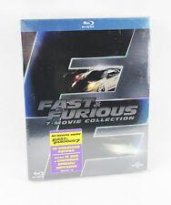 Fast & Furious 1-7 Box [Blu-ray] (Ein Film hat kein Deutsch, siehe Beschreibung)