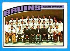 1976-77 Topps BOSTON BRUINS Team Card (vg)