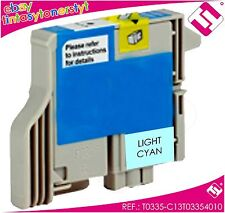 TINTA CIAN CLARO T0335 IMPRESORA STYLUS PHOTO 950 CARTUCHO CYAN NO ORIGINAL
