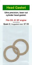 OS .61 SF Cylinder Head Gasket 2 Pack NIP