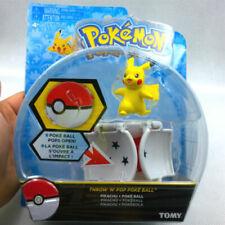 "New arrival Bounce Pokeball with Pokemon figure toys 2"" poke ball TOMY Pikachu"