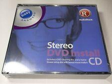 RadioShack Laser Lens Cleaner + Stereo Dvd Install Cd Sealed Brand New