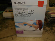 ELEMENT TARGETED TONING PILATES FOR BEGINNERS  EXERCISE WORKOUT DVD NEW SEALED
