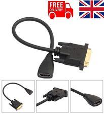 DVI Maschio a HDMI DVI Cavo Adattatore da donna 24+1 a Cavo HDMI per HDTV DVD PLASMA