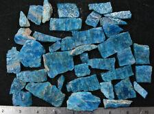 Blue Apatite Slabs Madagascar