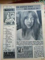 CLIPPING  emma cohen LADY miss europa 1971