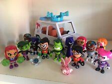 Teen Titans Go! Mini 13 Figures Jinx Speedy Gorilla Mattel Rare