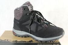 Salomon Ellipse Freeze Cs Wp Boots 406132 Boots Black Cs Waterproof New