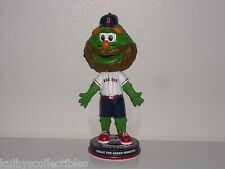 WALLY THE GREEN MONSTER Red Sox Mascot Bobble Head 2013 Fear the Beard Edition**
