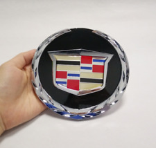 Crest Logo Front Grille Emblem Badge Fit 2007-2014 GM Cadillac Escalade ESV EXT