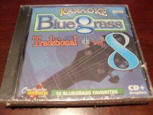 CHARTBUSTER PRODISC KARAOKE 80169 BLUEGRASS VOL 8 TRADITIONAL CD+G 15 TRACKS