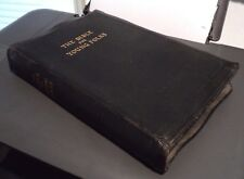 KJV JOHN STIRLING The Bible for Young Folks (1945, Black Bonded) Red Lettered