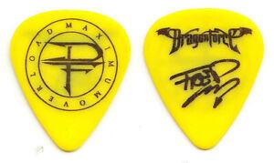 DragonForce Frédéric Leclercq Signature Guitar Pick - 2014 Maximum Overload Tour