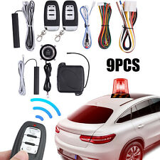 Car Alarm Start Security System Smart Keyless Entry Push Button Remote Control