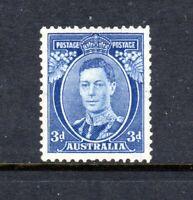 1938  KGVI 3d BLUE (DIE 2) MINT ( MLH ) SG 168c